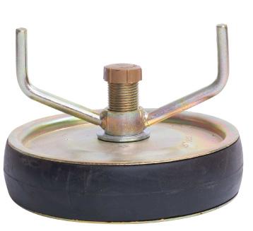 Obturateur mécanique acier à serrage manuel